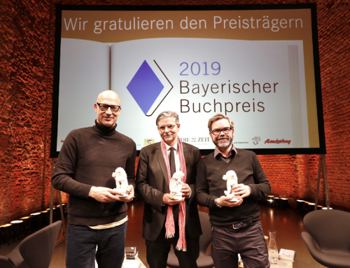 Bayerischer Buchpreis 2019 vergeben