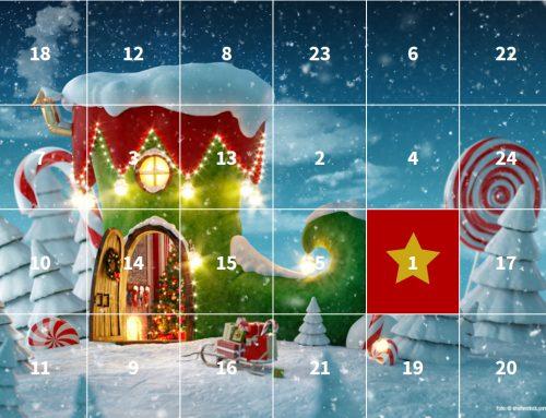 Unser Adventkalender präsentiert Buchtipps, Geschenkideen und so manche Gewinnfrage