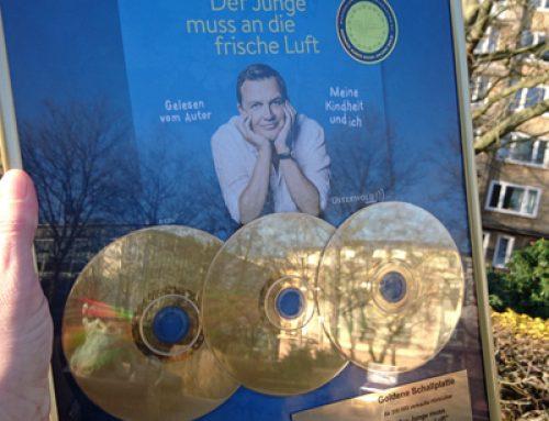 Drei Goldene Schallplatten für Hape Kerkeling