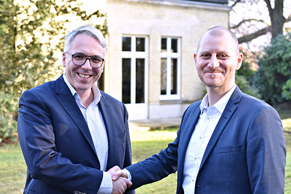 HoCa-Verleger Tim Jung und Saga-Verlagsleiter Lasse Horne © Hoffmann und Campe