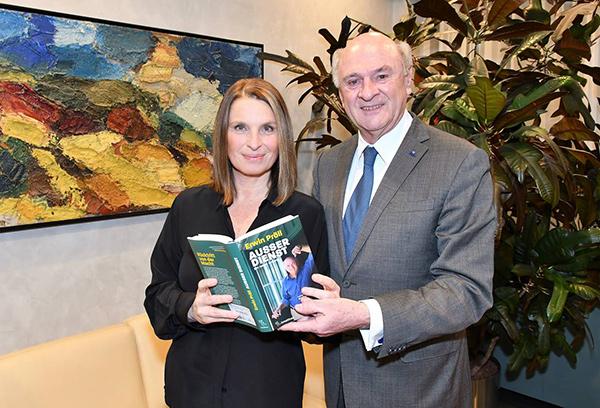 Barbara Stöckl und Erwin Pröll, © Markus Spitzauer