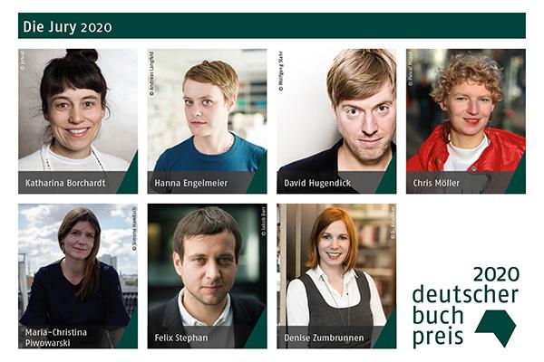 Deutscher Buchpreis 2020 – Die Jury