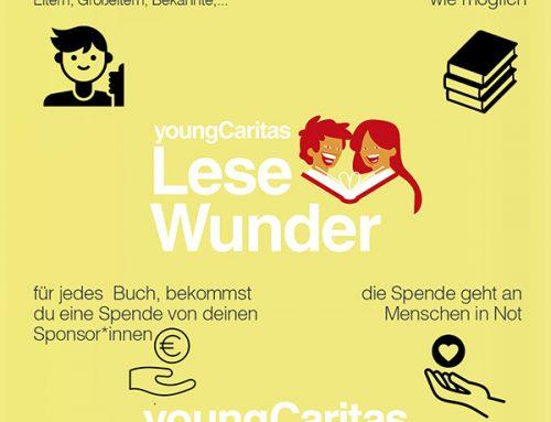 Anmeldestart zum youngCaritas LeseWunder