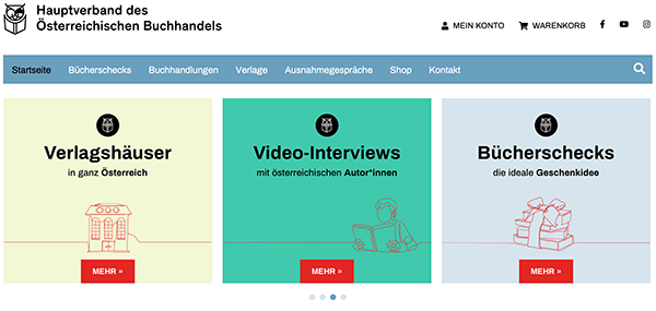 Screenshot buchhandel.at