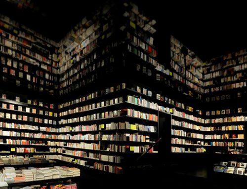 Ein Buchhändler packt aus