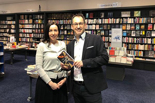 Gerlinde Tamerl und Markus Renk | © Wagnersche Universitätsbuchhandlung