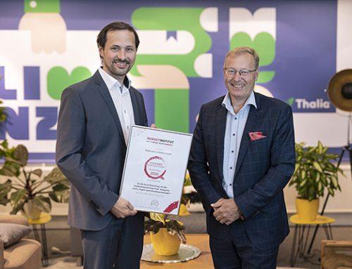 Thalia erhält Customer Excellence Award