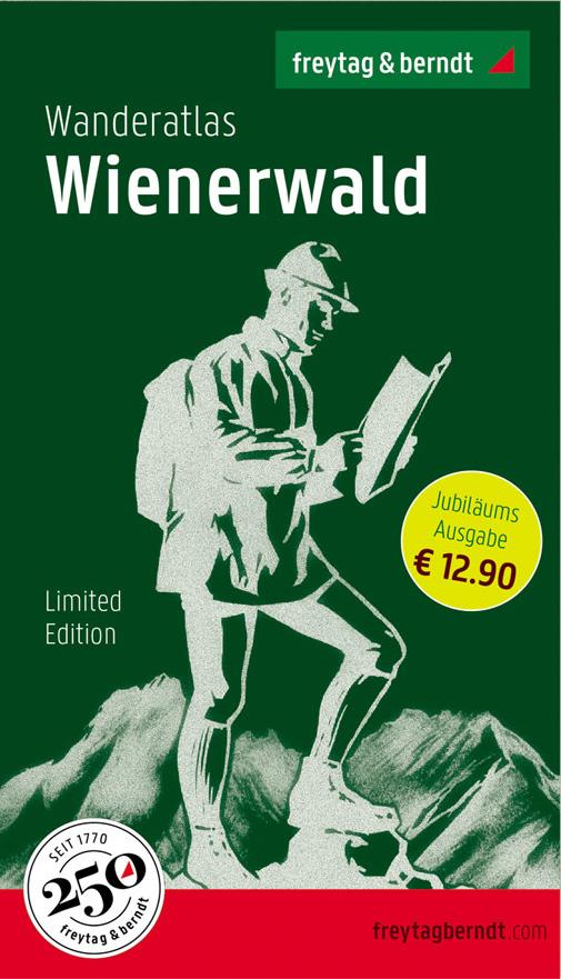 Cover Wanderatlas Wienerwald
