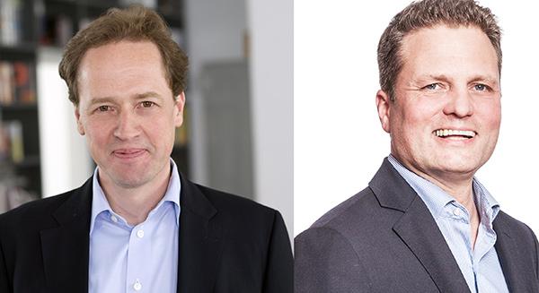 Links: Roland Große Holtforth (© Sabine Felber), rechts: Thilo Schmid (© Jörg Schwalfenberg)
