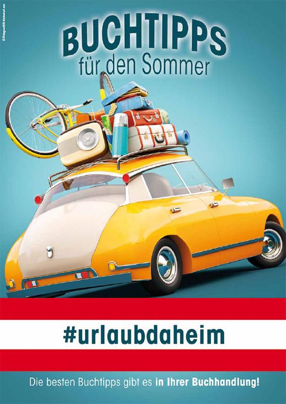 Cover #urlaubdaheim Buchtipps für den Sommer