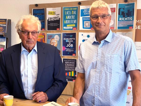 Helmut und André Jünger | © Gabal Verlag