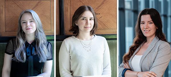 Stephanie Trausmuth (© Goldegg Verlag), Sarah Holzknecht (© Goldegg Verlag) und Kathrin Pesek (© Matthias Jaidl)
