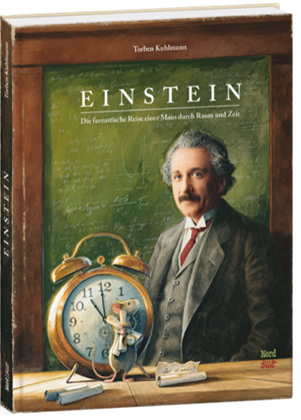 """Cover """"Einstein – Die fantastische Reise einer Maus durch Raum und Zeit"""""""