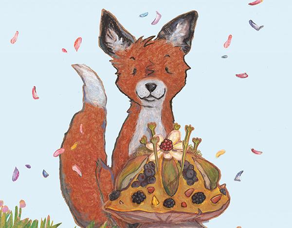 Fuchs – Illustration von Florence Dailleux | © G&G Verlag