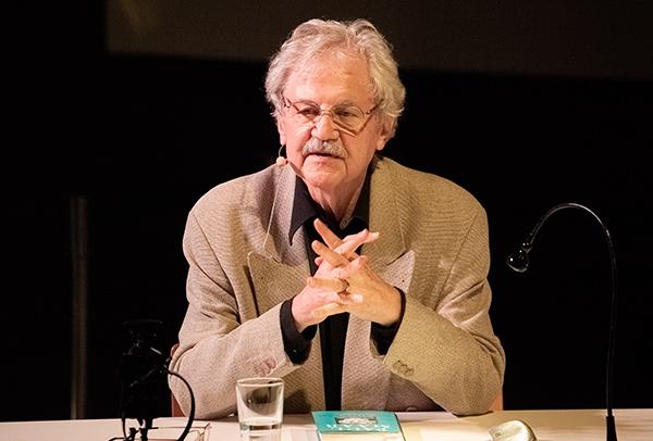 Paul Maar bei der Preisverleihung des Tüddelbands | ©Torsten Brumm