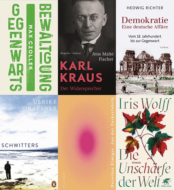 Bayrischer Buchpreis: Cover Nominierte 2020