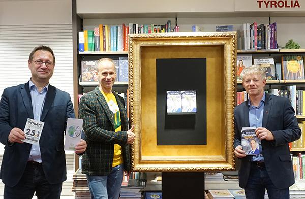 Bernhard Borovansky, Marcus Wadsak und Stephan Bair | © Tyrolia/Stepanek
