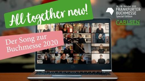 Banner All together now! Der Song zur Buchmesse 2020 | © Carlsen