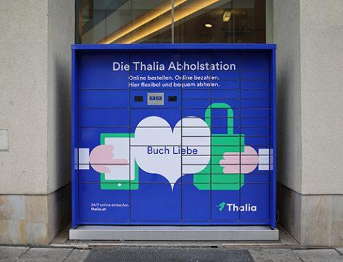 Thalia nimmt Bücher-Abholstationen in Linz und Wien in Betrieb