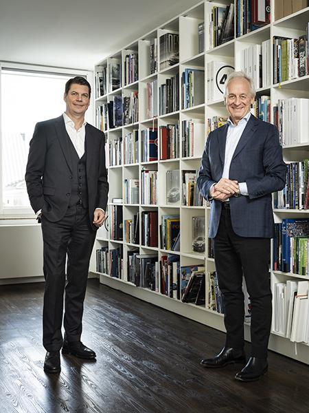 Konrad Delius und Nils Oberschelp | © Delius Klasing