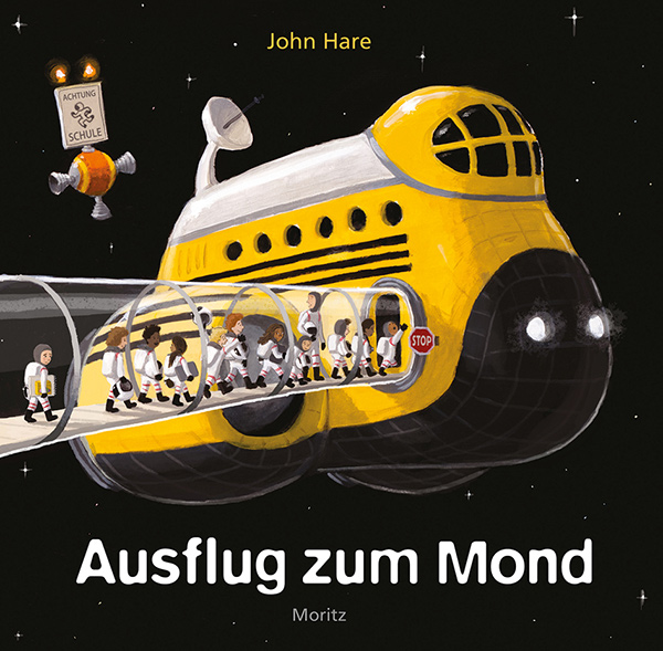 Cover Ausflug zum Mond | © Moritz Verlag