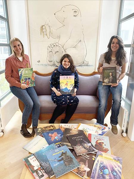 Laetitia Oertle, Louise Münzer und Sindhya Bergamin (v.li.n.r.) | © NordSüd Verlag