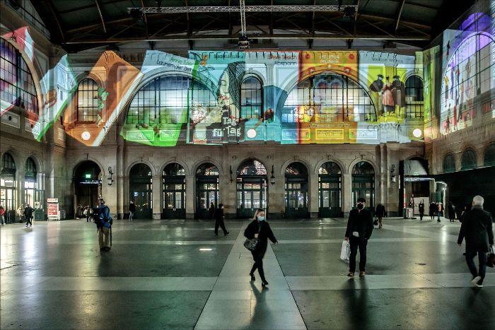 Kein & Aber Lichterspektakel | © Dominique Meienberg