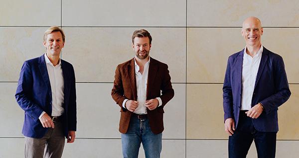 Leitung der Edel Verlagsgruppe: Olaf Conrad, Jonas Haentjes und Jürgen Brandt | © Edel Verlagsgruppe