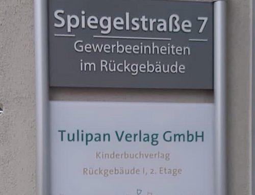 Der Tulipan Verlag zieht um