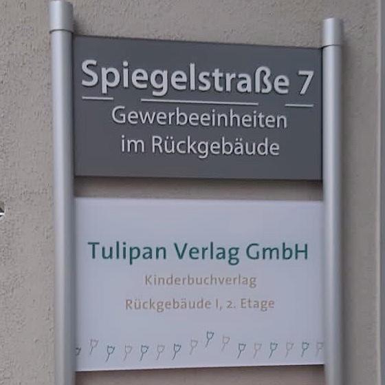 Tulipan Verlag: Spiegelstrasse 7   © Tulipan Verlag
