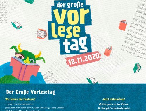 Der Große Vorlesetag 2020 – Wir feiern die Fantasie!