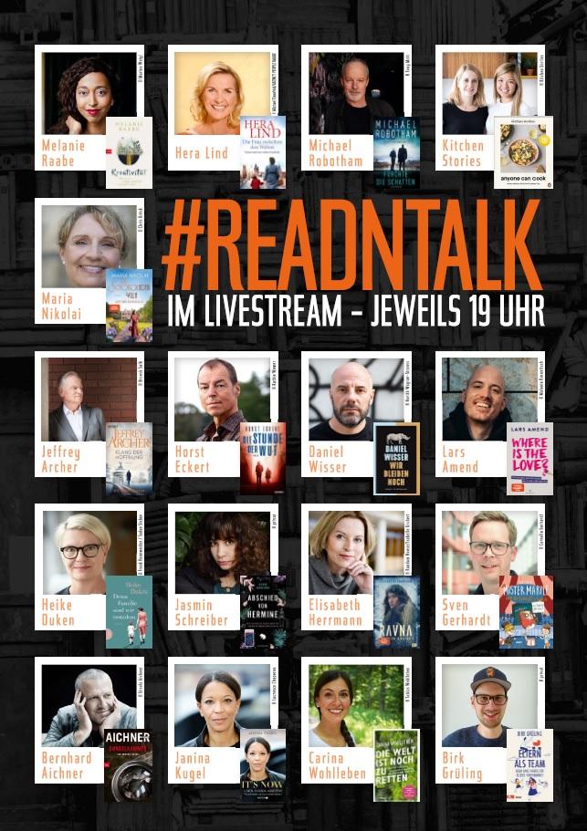#readntalk-poster | © Penguin Random House Verlagsgruppe