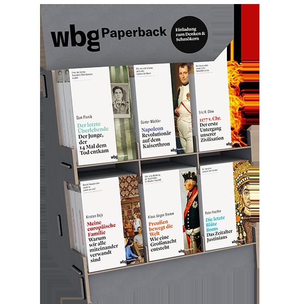 wbg Paperback Aufsteller