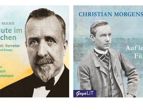 """150 Jahre Heinrich Mann und Christian Morgenstern mit """"Das Gute im Menschen"""" und """"Auf leichten Füßen"""""""