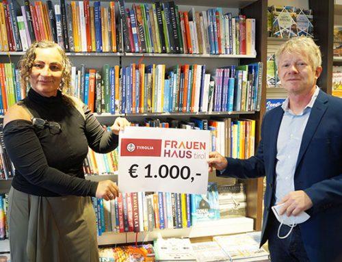 Tyrolia-Leseexemplare helfen von Gewalt bedrohten Frauen